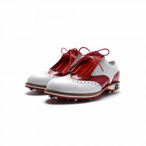 Patent Red Kilt Accessories Golf