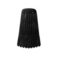 Aniline Black Kilt Accessories Black