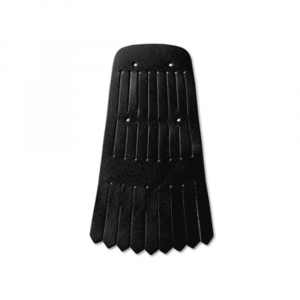 Aniline Black Kilt Accessories Black