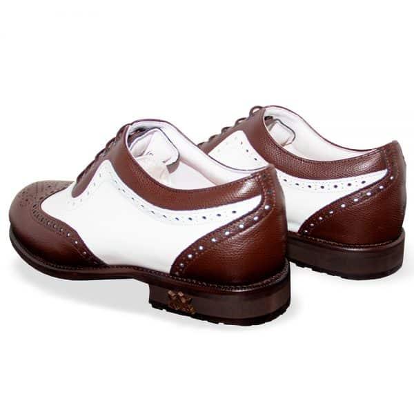 Tivoli White & Brown Gentlemen Gentleman