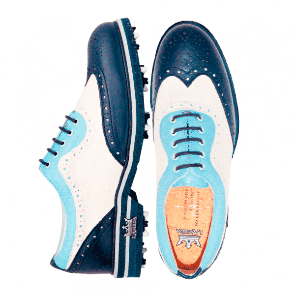 Tivoli Blue & Beige Ladies Gentleman