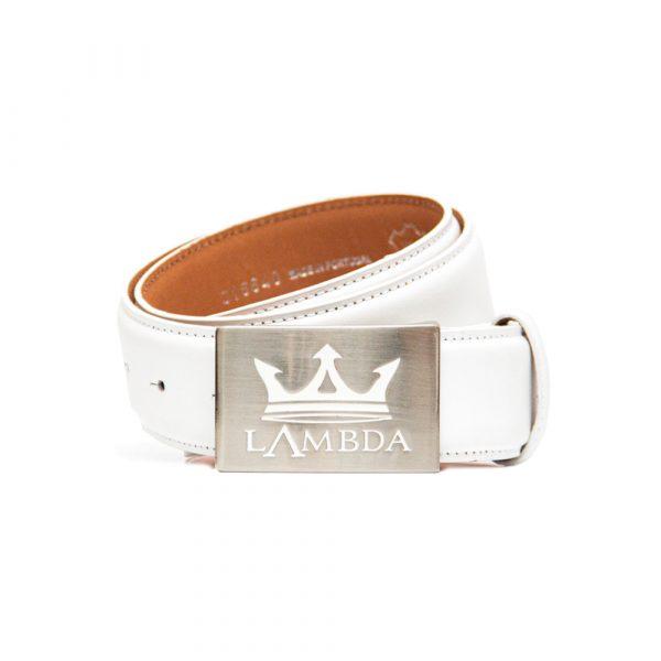 Bari White Accessories Belts