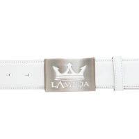 Bari White Accessories Belts